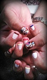 french heart nails:))