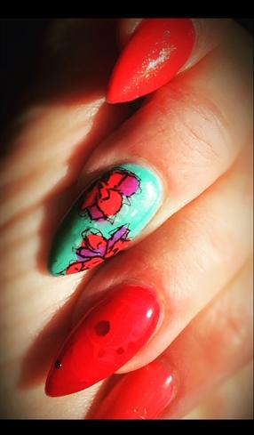 Christian Laboutin Nails
