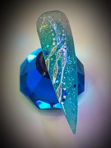 Blue Stilletto