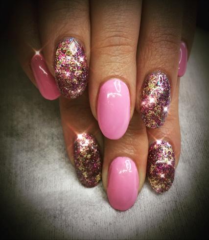 Pink Custom Glitter Mix