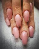 Nude Ballerina Nails