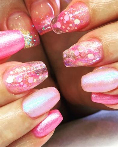 Pink Mermaid n Pearls