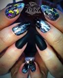 🦇 Bats Black & Silver
