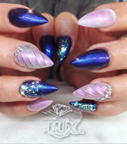 Pink & purple Unicorn pigment