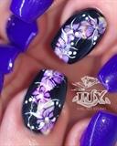 Watercolour And Purple