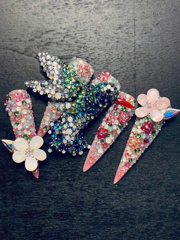 Swarovski Hummingbird Mosaic