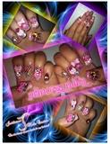 3D Princess Nails