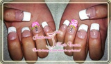 French prom nails
