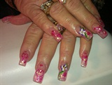 pink Mylar tips