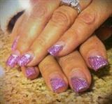 pink glitter