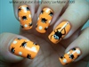 Polka Dot Spiders-Halloween Design