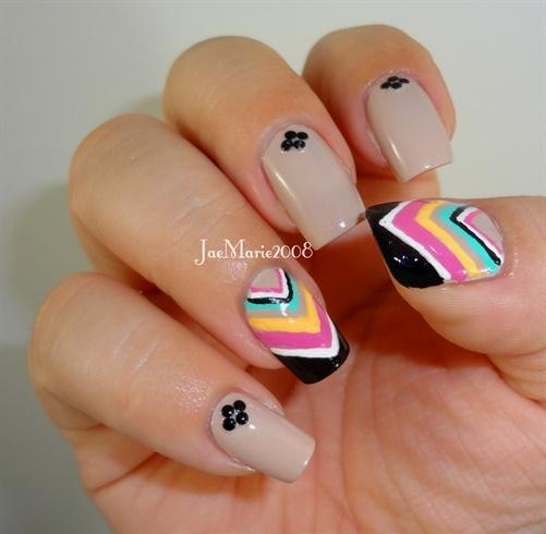 Chevrons Nail Design