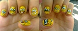 my nail art for Mr. Sherdon King Soriano