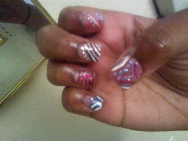 colorful nail designs ! - Nail Art Gallery