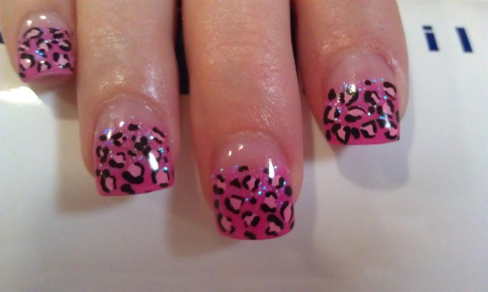 Leopard Print Nail Art Gallery