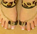 Sandal Ready French Toes