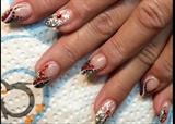 Snowflake Xmas Nails