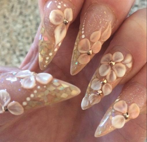 Pretty 3D Flowers