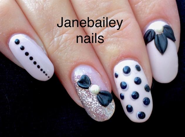 Acrylic Overlay On Natural Nails - Nail Art Gallery