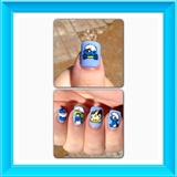 Smurfs Nails