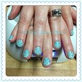 For Audrey Gelaze Stamped Manicure