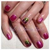 Shellac Hibiscus Gradient