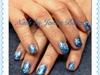 Snowflakes Frozen Nails