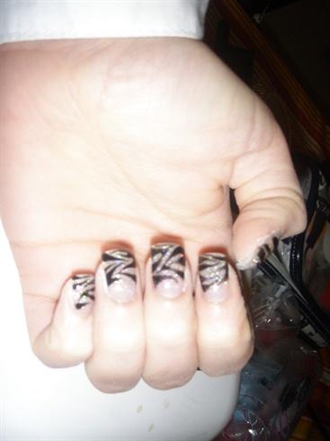Zebra Glitter!