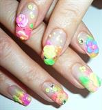 3d Spring Flowers