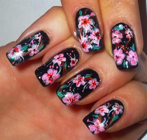 Cherry Blossom Nail Art Nail Art Gallery