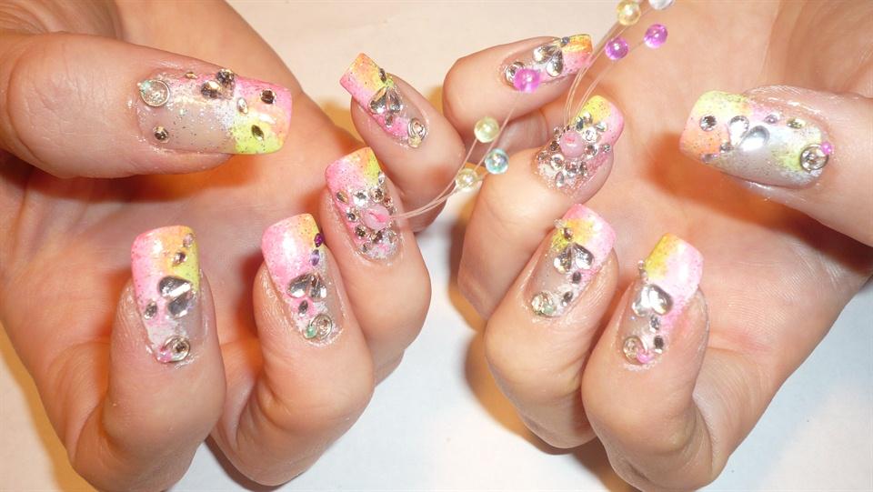 Extreme nail art - Nail Art Gallery