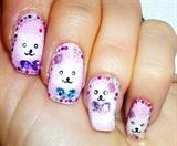 White teddy bears