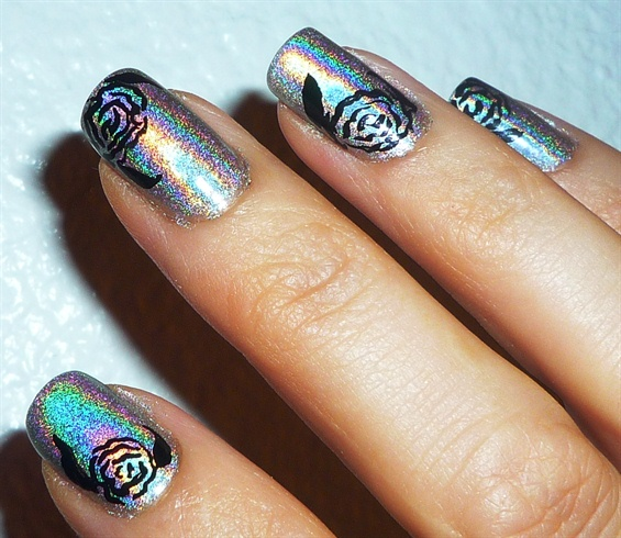 Holographic Nail Polish Designs Hession Hairdressing