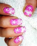 Elegant Lace Nail Art