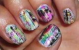 Mixed polishes Nail art