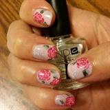 Rosy nails