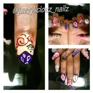 Marylin A Gangster Nail Art Gallery