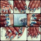 Blue Flowers that Pop
