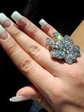 White Tips - Long & Elegant *Blingin*