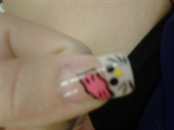 Hello Kitty Hand Painted Acrylics
