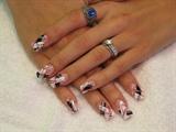 Black / Red / White
