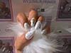 White Xmas Nails