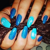 Glitter Blue