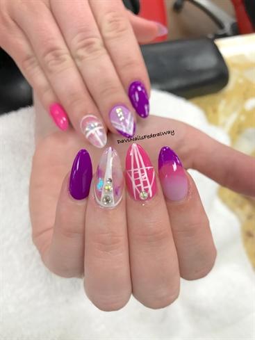 Mylar Paper Nails