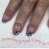 Patriotic Nails