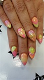 Neon almond