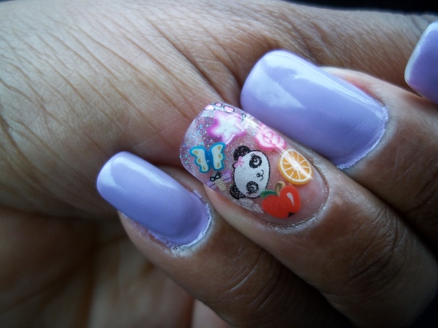 MAC Quite Cute nails