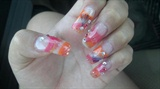 Shorter Pretty Summer Nails