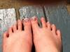artsy toes
