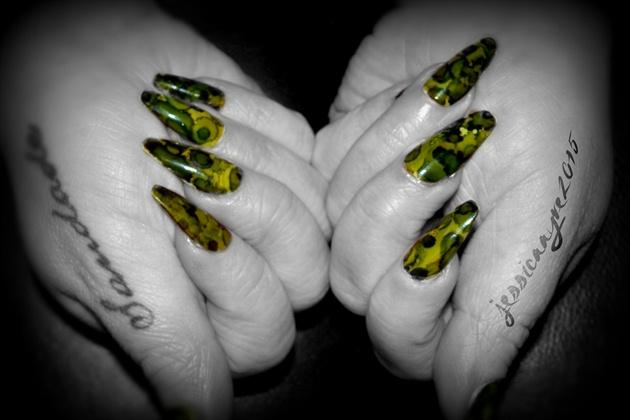 Green Inked